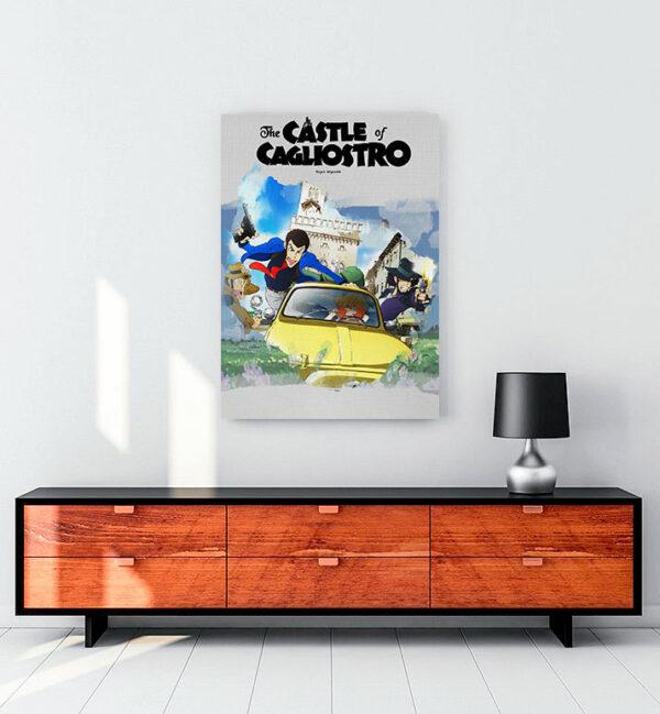 kagliostro'nun-şatosu-the-castle--of-cagliostro-kanvas-tablo