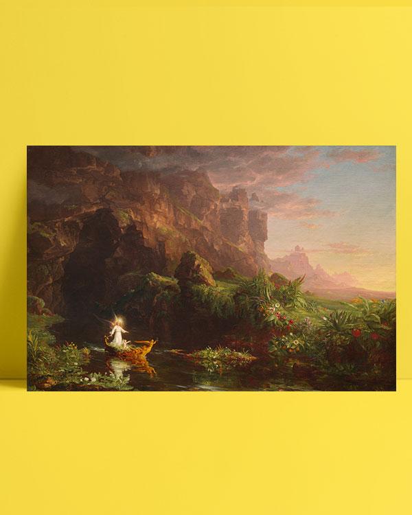 yaşam-yolculuğu-çocukluk-the-voyage-of-life-childhood-posteri