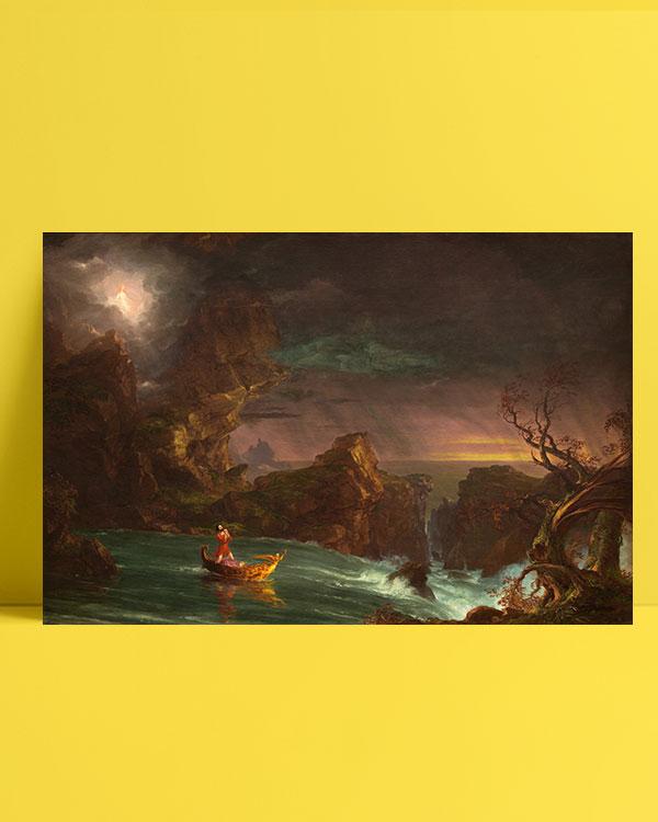 yaşam-yolculuğu-genç-adam-the-voyage-of-life-manhood-posteri