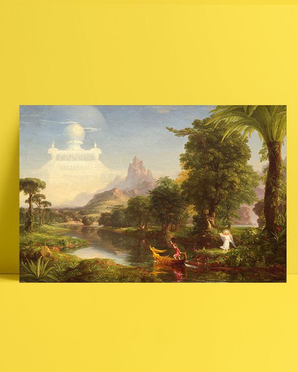 yaşam-yolculuğu-genç-kadın-the-voyage-of-life-youth-posteri