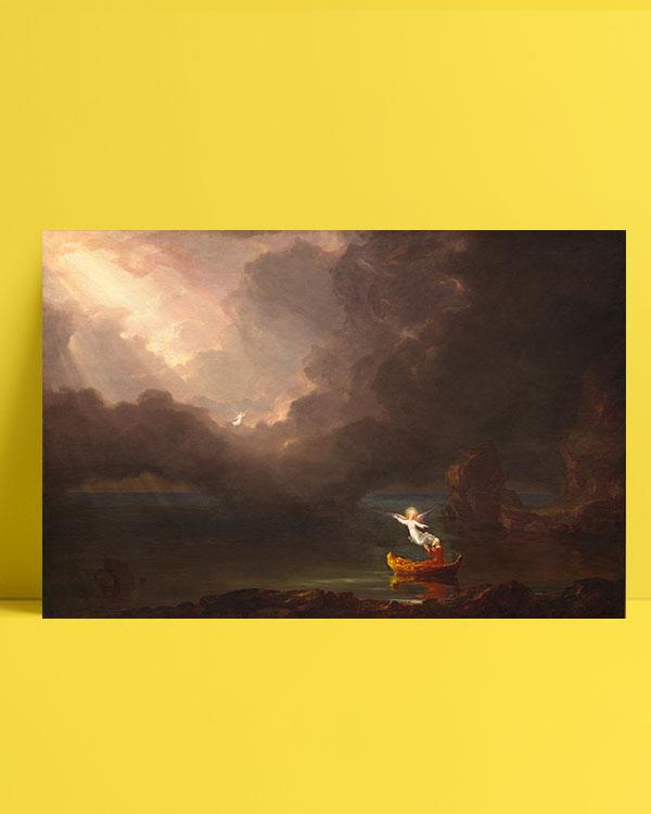 yaşam-yolculuğu-yaşlılık-the-voyage-of-life-old-age-posteri
